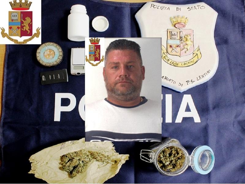 Trovato con cocaina, marijuana e denaro in casa: in manette Francesco Grasso