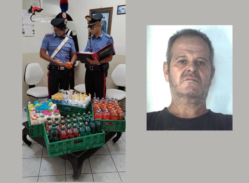 Furto in un supermercato, 56enne si introduce dalla porta sul retro: arrestato