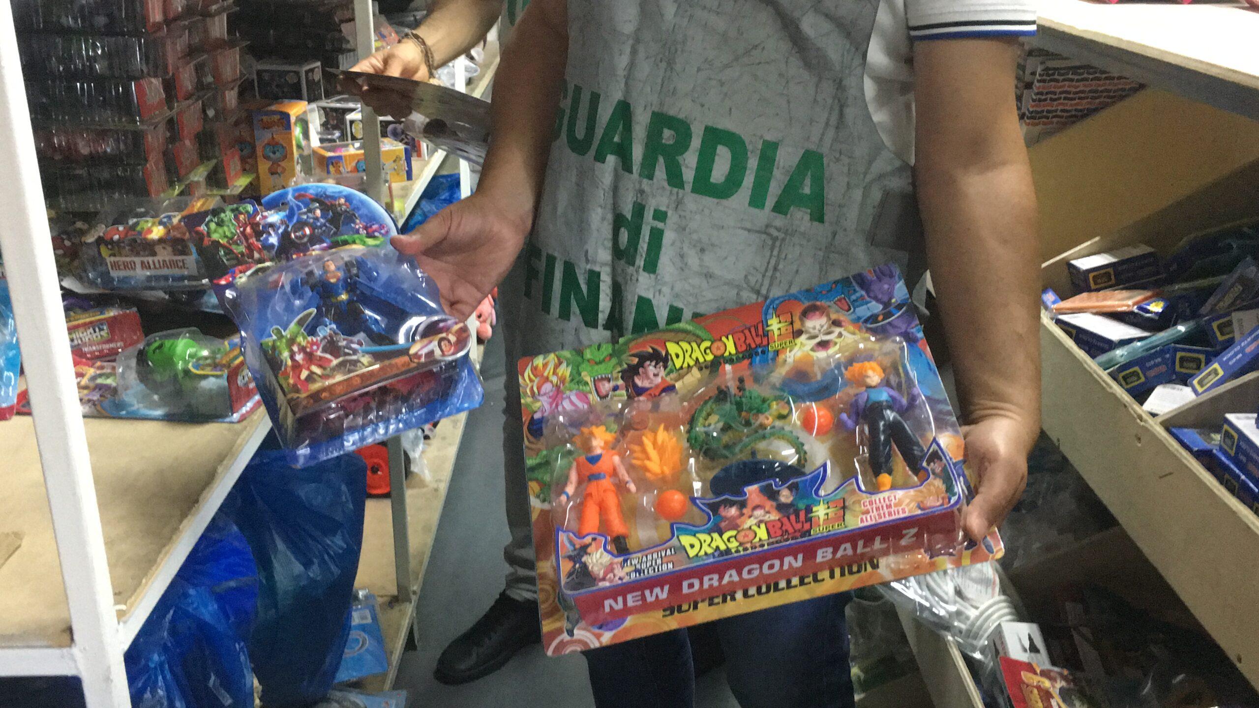 Catania, sequestro di giocattoli contraffatti e merce non sicura – DETTAGLI