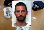 Catanese in auto con la figlioletta di 9 anni e la cocaina, in casa altre dosi: arrestato