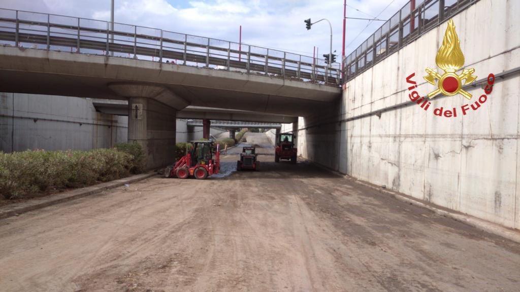Nubifragio di Santa Rosalia, continuano senza sosta i lavori per il ripristino delle strade