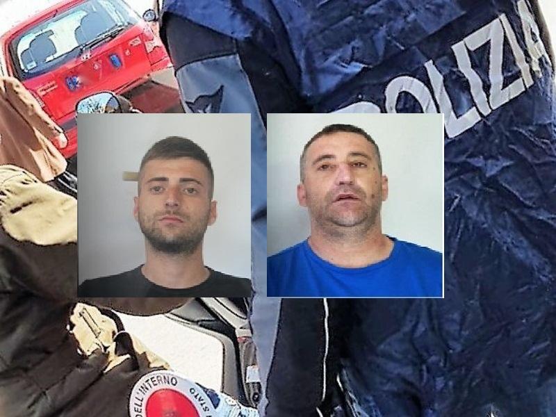 """Catania, zio e nipote """"professionisti"""" di furti. Rubano borsello e tentano di investire poliziotto: arrestati"""