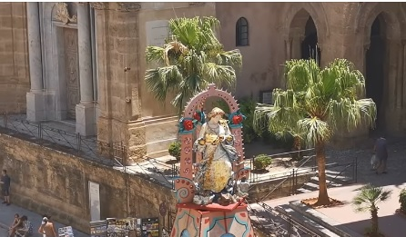 """Palermo sospesa"", una festa anomala per Santa Rosalia"