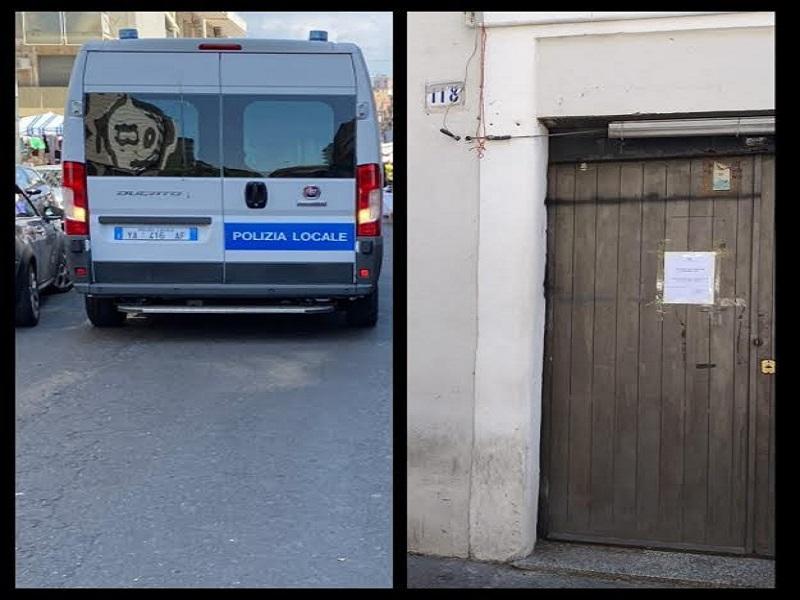 Catania, abusivismo commerciale e violazione delle regola sanitarie: sanzioni della municipale, i dettagli