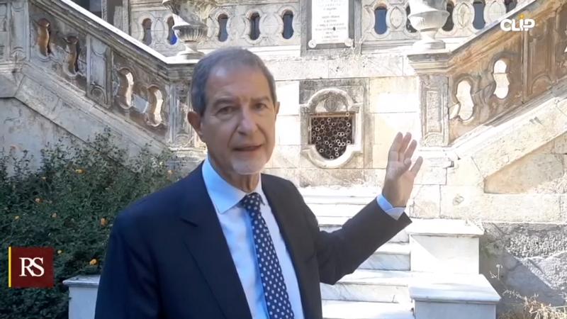 Catania, l'area dell'ex ospedale Santa Marta verrà riqualificata: Nello Musumeci in sopralluogo