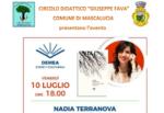 Il CD FAVA e il comune di Mascalucia incontrano la scrittrice Nadia Terranova