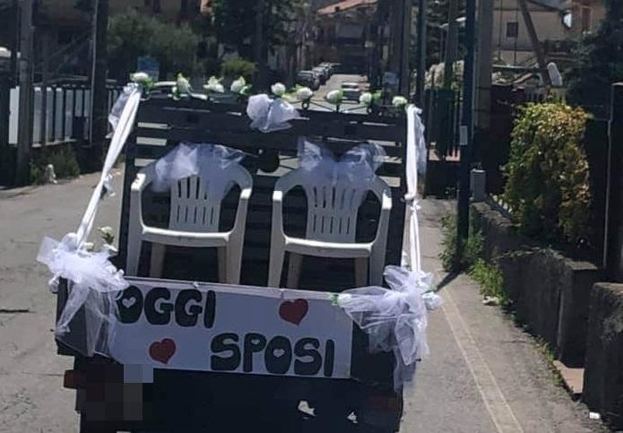 """Oggi Sposi… sulla """"lapa"""" nel Catanese: l'originalità made in Sicily rallegra le nozze"""