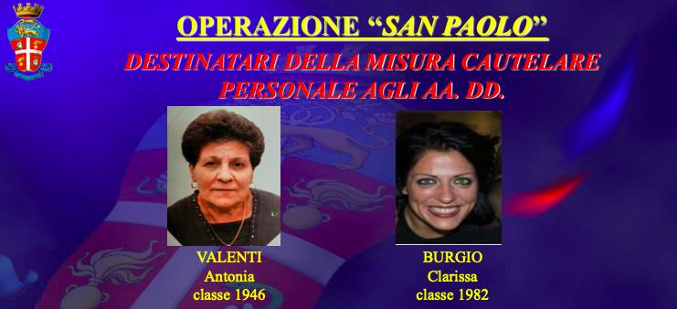 """Da vittima di usura a compagna del """"boss"""": il ruolo delle donne arrestate nell'operazione """"San Paolo"""""""