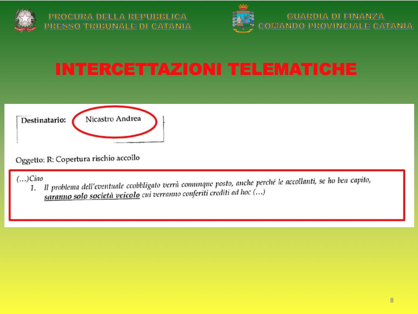 """Operazione """"Fake Credits"""", quella verifica fiscale all'Istituto di Vigilanza di Belpasso """"fatale"""" per 30 professionisti"""