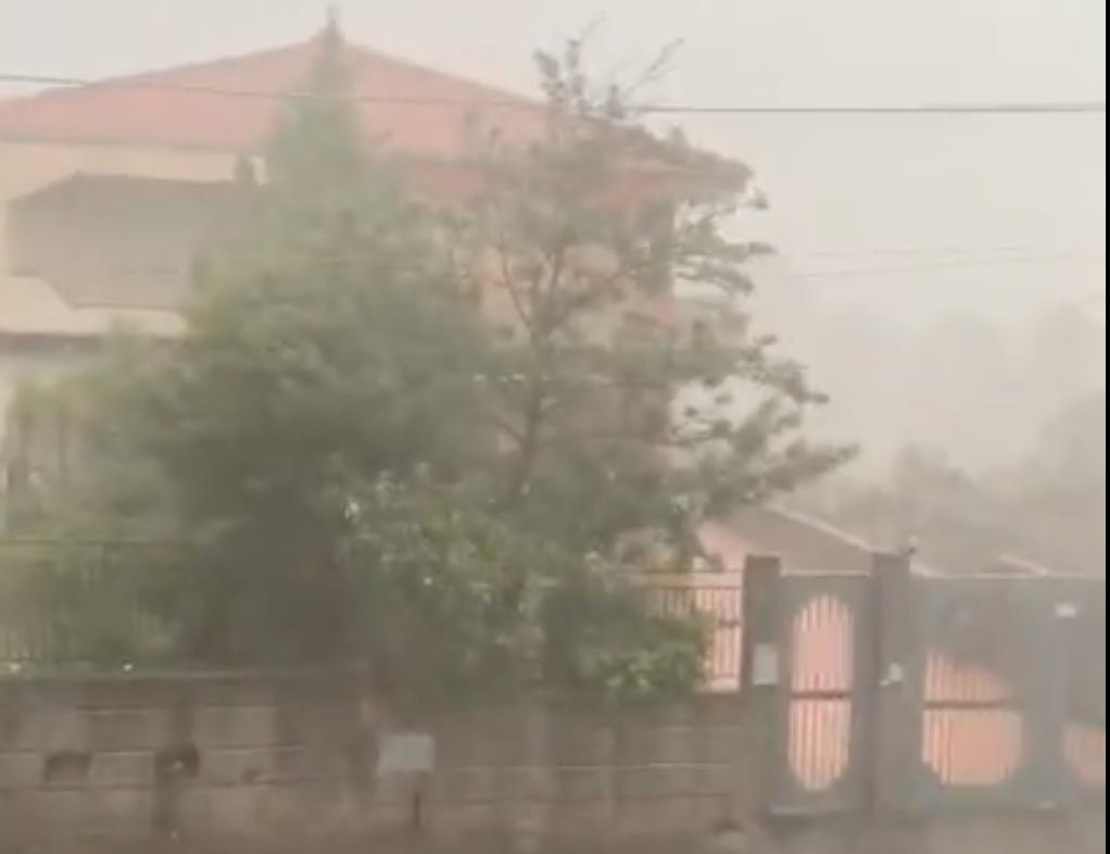 Tempesta si abbatte su Catania e provincia: bomba d'acqua e disagi – FOTO e VIDEO