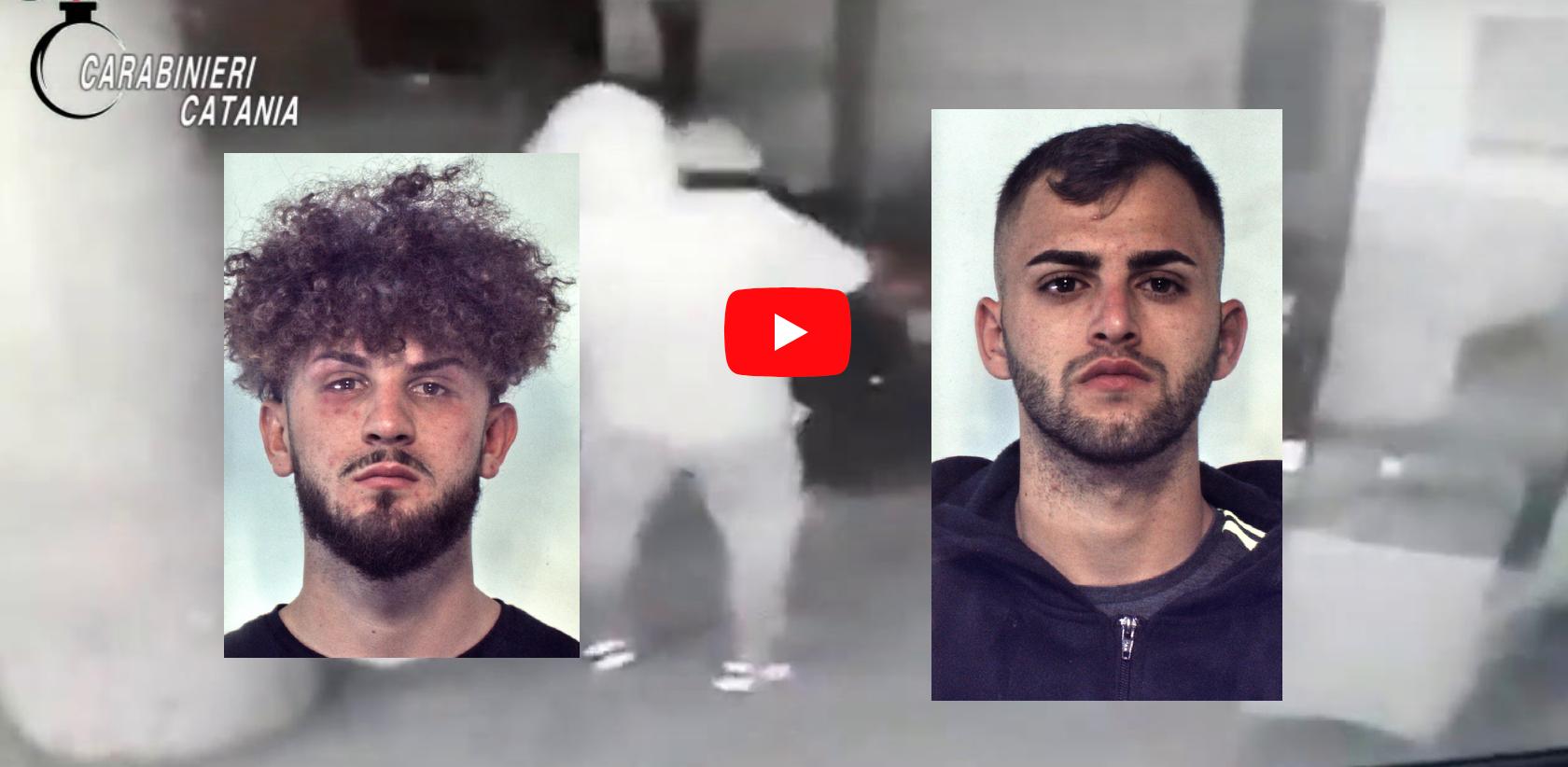 Da Catania a Belpasso, catanesi rubano slot cariche di soldi e fuggono: inseguimento per oltre 20 Km – NOMI, FOTO e VIDEO