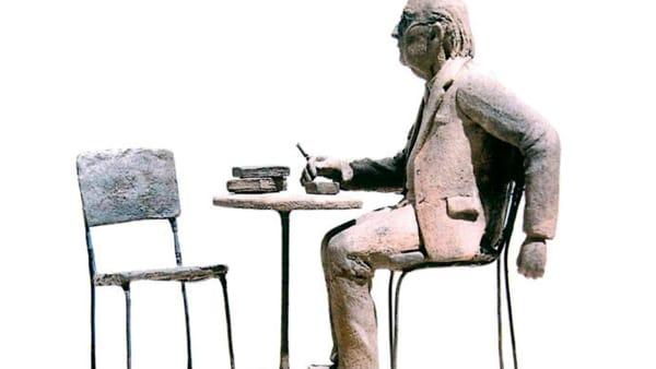 Andrea Camilleri, una statua in onore dello scrittore agrigentino