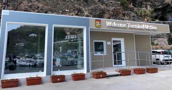 Ustica ha una nuova stazione marittima moderna e sicura: ieri l'inaugurazione – I DETTAGLI