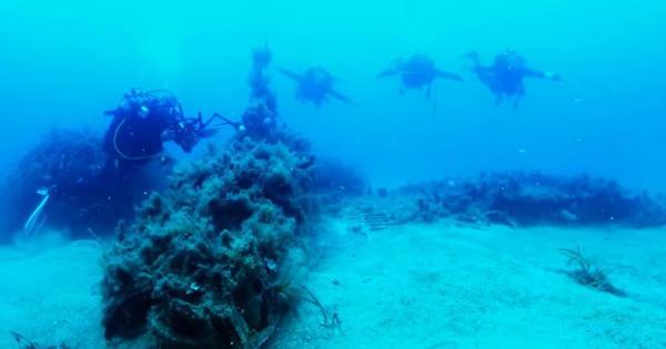 """""""Tesoro"""" scoperto nei mari siciliani: trovato antico relitto carico di reperti"""