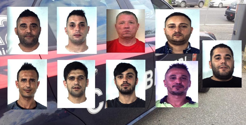 """Operazione """"Minosse"""", 9 arresti per detenzione e spaccio tra Catania e Trapani: i NOMI e le FOTO degli indagati"""