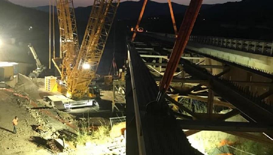 Apertura viadotto Himera: investimento di 12,5 milioni di euro per 270 metri di struttura
