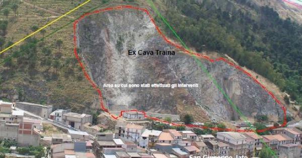 Dissesto idrogeologico, a San Giuseppe Jato si consolida l'ex Cava Tarina
