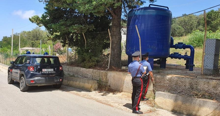 Allevatori rubano acqua comunale per abbeverare animali: denunciati in 4 sui Nebrodi