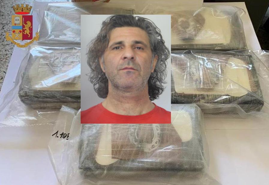 Corriere della droga fermato ai caselli di San Gregorio: cocaina per 250mila euro, arrestato