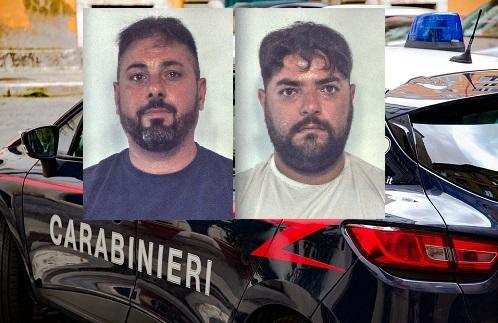 Tentano di rubare un'auto ma vengono bloccati dai carabinieri: arrestati Fabio Riccio e Antonio Caruso