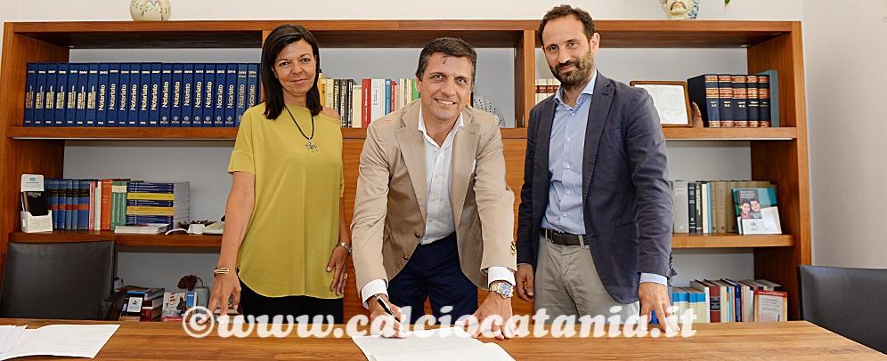 """S.I.G.I. rilancia il Calcio Catania, Ferraù: """"Momento storico. Grazie ai tifosi per il sostegno incondizionato"""""""