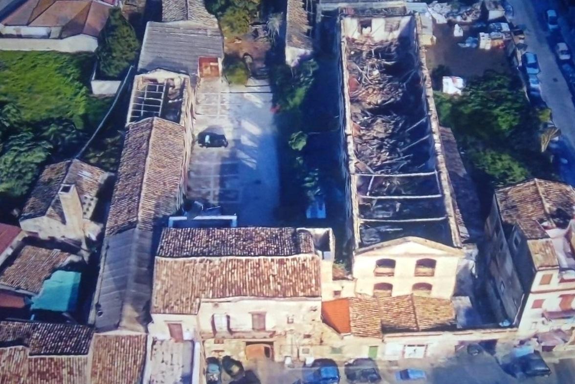 Sequestrato complesso monumentale ex Lebbrosario: strutture murarie pericolanti con presenza di rifiuti pericolosi