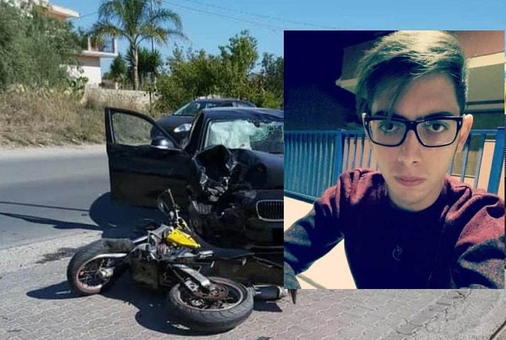 Incidente mortale sulla Pachino-Marzamemi: la vittima è il 22enne Salvatore Aprile