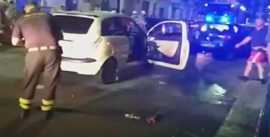 Schianto in via Perez, feriti gravi e 6 auto distrutte: i nuovi DETTAGLI dell'incidente