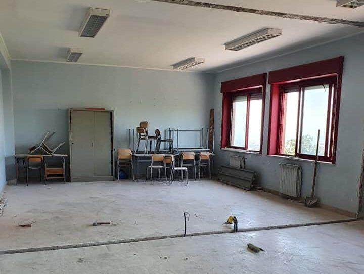 Le scuole del Catanese si preparano al ritorno tra i banchi in sicurezza: a Gravina iniziano gli interventi di manutenzione