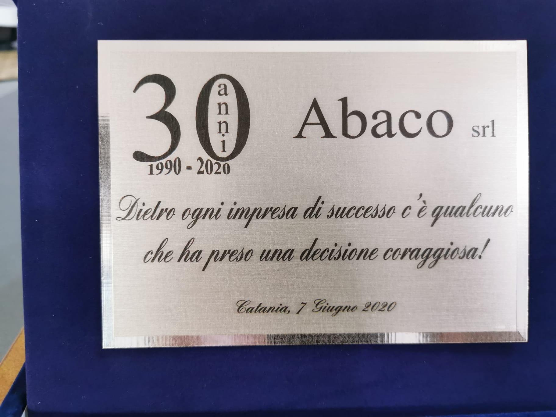 """Trent'anni per l'Abaco Srl, il presidente IV Municipalità Erio Buceti: """"Eccellenza per il territorio"""""""