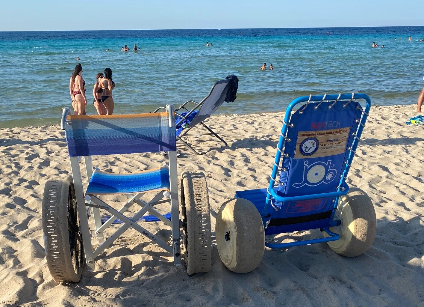 """A San Vito Lo Capo spiaggia """"Zero Barriere"""": spazi e attrezzature dedicati ai diversamente abili e alle loro famiglie"""