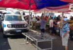 Catania, massicci controlli alla Fiera e alla Pescheria: 3 locali chiusi, 7 sequestri di merce