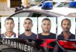Folle inseguimento lungo la SS 514, 4 catanesi in fuga dopo un tentativo di furto di uva: arrestati