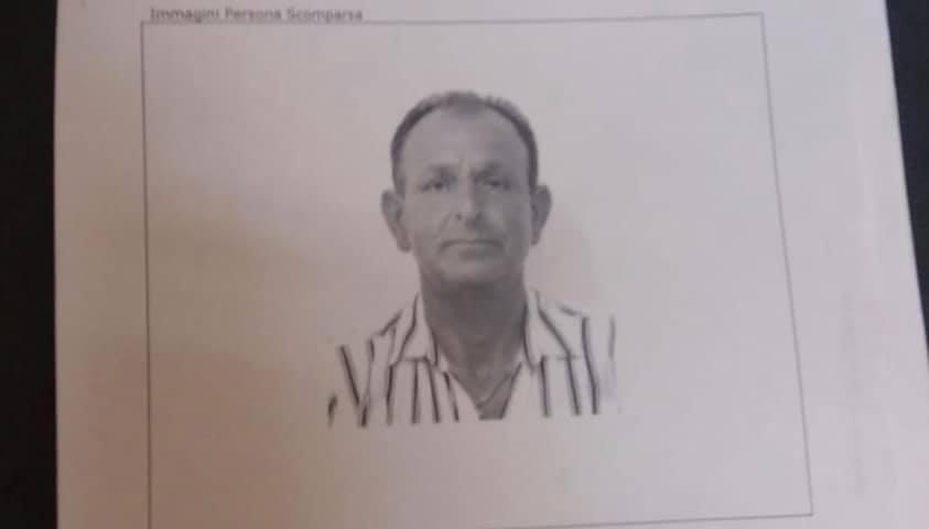 Scomparso dal 29 luglio, nessuna notizia di Girolamo Basone: ricerche in corso