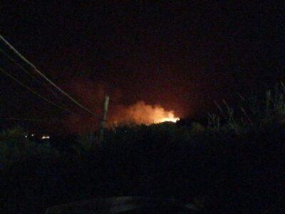 Incendio Scopello 17 agosto