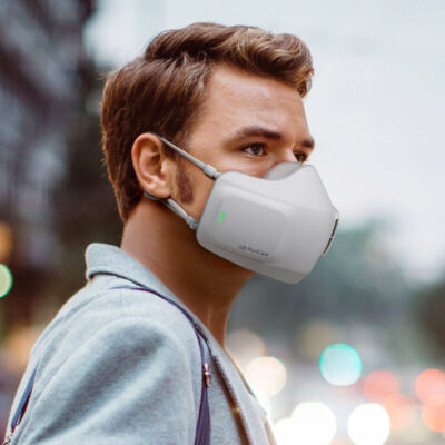 "PuriCare Wearable Air Purifier: la ""smart mask"" di LG per combattere la pandemia"