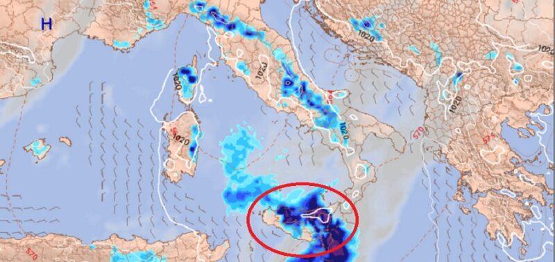 Addio al caldo in Sicilia, da mercoledì in arrivo correnti fresche di maestrale: ritorna il maltempo