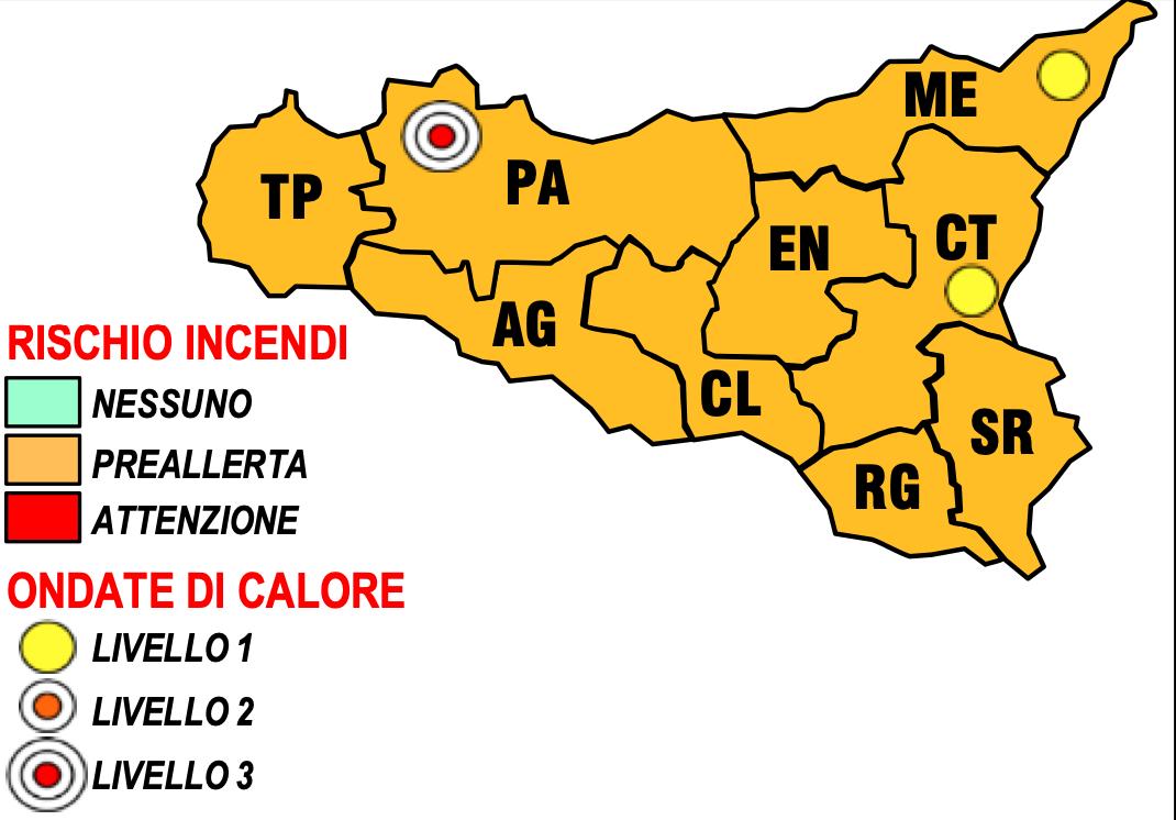 Ancora caldo infernale in Sicilia, a Palermo è allerta per le ondate di calore: previsti fino a 38 gradi