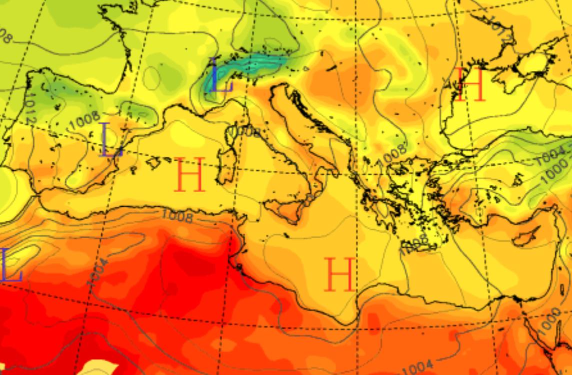 """Agosto """"pazzerello"""" in Sicilia: sole, pioggia e temperature oltre i 40°C – I DETTAGLI"""