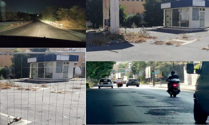 Non solo Circonvallazione, le strade di Catania un pericolo per i cittadini: rifiuti, buio e denunce