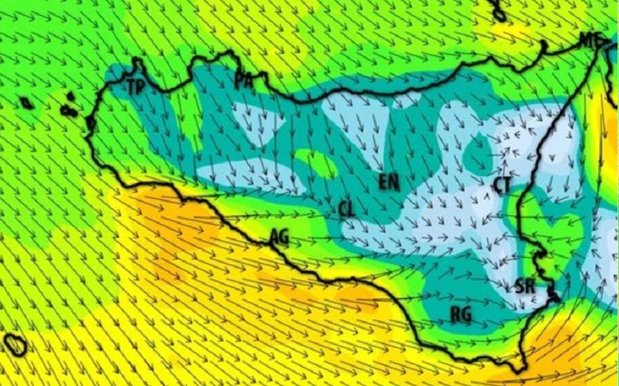 """Forte maltempo in Sicilia, vento di Maestrale in arrivo. Gli esperti: """"Si sconsiglia la balneazione"""""""