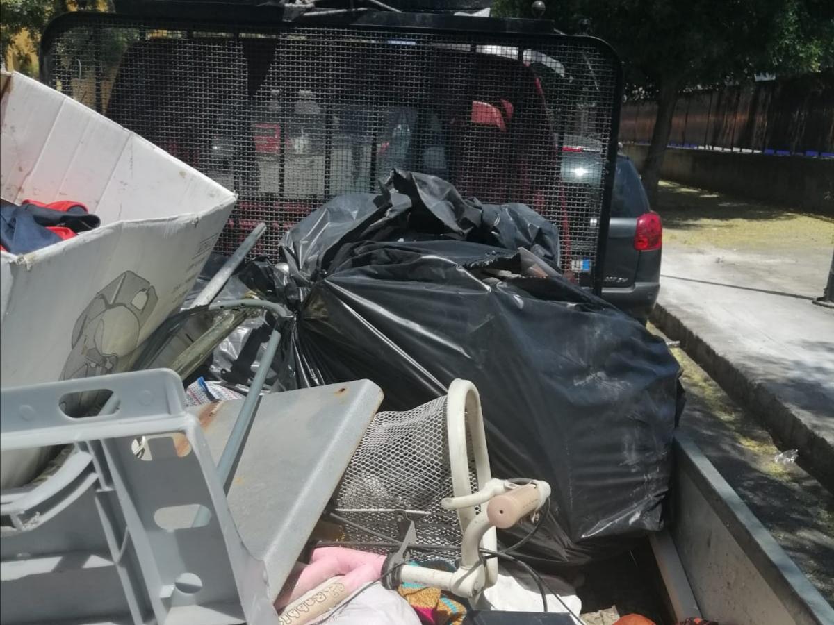 Abbandono di rifiuti incondizionato: le operazioni della municipale tra sequestri e sanzioni