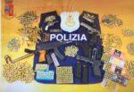 Mitragliatrice, armi senza matricola e oltre mille cartucce: arrestato Alfio Amenta