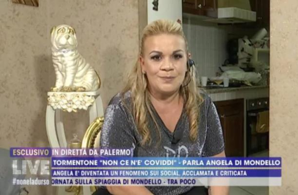 """""""Ho problemi con la legge e sto scontando la mia pena"""", la rivelazione di Angela da Mondello a Barbara D'Urso"""