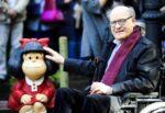 """Lutto nel mondo dei fumetti: addio a Quino, """"papà"""" di Mafalda"""