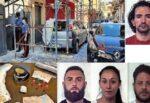 Catania, blitz a San Cristoforo: arrestati 4 pusher, trovati cocaina e 7mila euro in contanti