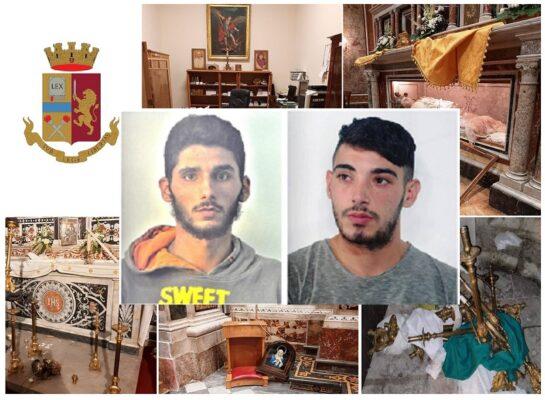 Raid notturno nella Chiesa di Sant'Agata al Collegio, saccheggiano oggetti sacri aiutati da due complici: arrestati