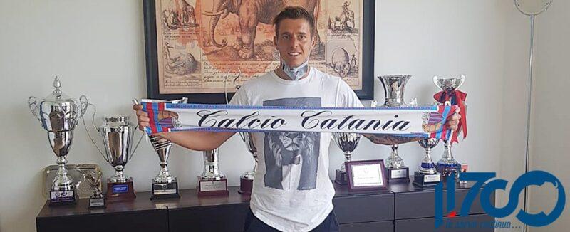 Calcio Catania, ufficiale Giacomo Rosaia: contratto fino al 30 giugno 2022