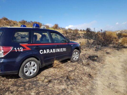 Appicca un rogo in un'area protetta: arrestato operaio del corpo forestale della Regione