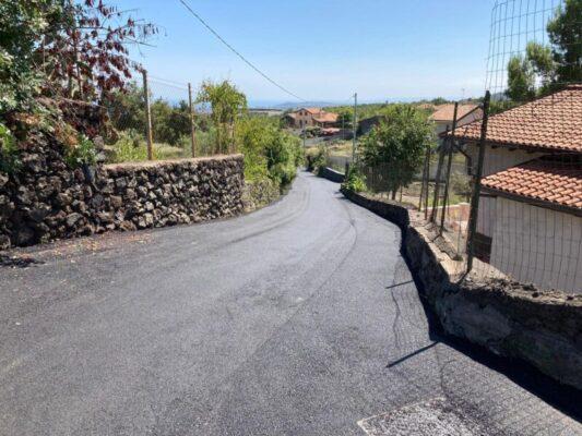 Sisma Aci Sant'Antonio, ripristinato manto stradale di via Sotto Monterosso